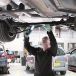 Sistema de trasmisión y frenos del vehículo